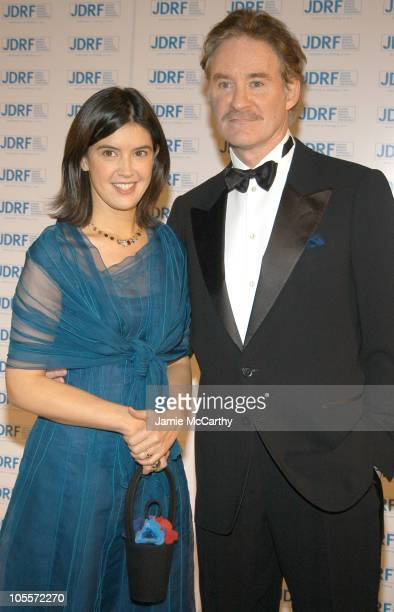 Phoebe Cates and Kevin Kline during 32nd Annual Promise Ball Hosted By The Juvenile Diabetes Research Foundation at American Museum of Natural...