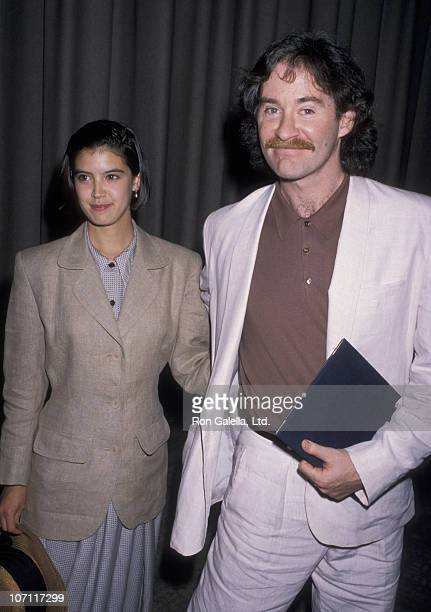 Phoebe Cates and Kevin Kline during 61st Annual Academy Awards Nominees Luncheon at Beverly Hilton Hotel in Beverly Hills California United States
