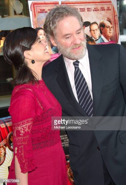 Phoebe Cates and Kevin Kline during A Prairie Home Companion New York Premiere Arrivals at DGA Movie Theatre in New York City New York United States