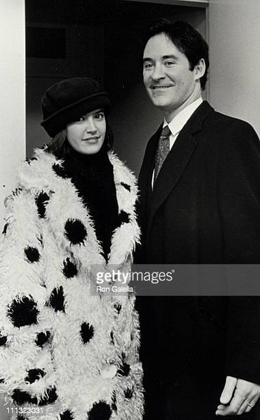 Phoebe Cates and Kevin Kline during Opening of 'The Tenth Man' at Vivian Beaumont Theater in New York City NY United States