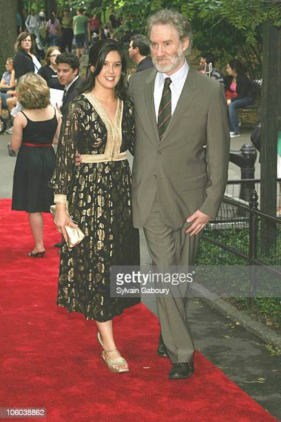 Phoebe Cates and Kevin Kline during Public Theater Gala and Opening of Shakespeare in the Park at Delacourt Theater, Central Park in New York, New...