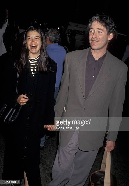 Phoebe Cates and Kevin Kline during St Augustine Screening at Fashion Institute of Technology in New York City New York United States
