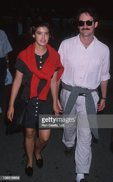 Phoebe Cates and Kevin Kline during 'The 12th' New York Premiere at Delacorte Theater in New York City New York United States
