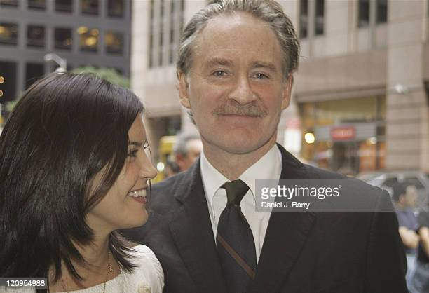 Phoebe Cates and Kevin Kline during 'The Paris Letter' Broadway Opening Night at Laura Pels Theatre in New York New York United States