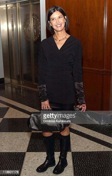 Phoebe Cates during Man of the Year 2002 Honoring Former President Bill Clinton at Grand Ballroom of the Waldorf Astoria in New York City New York...