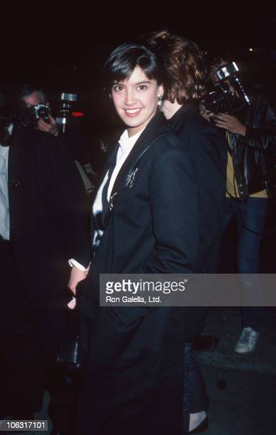Phoebe Cates during Phoebe Cates Sighted at Marylou's - May 8, 1986 at Marylou's in New York City, New York, United States.