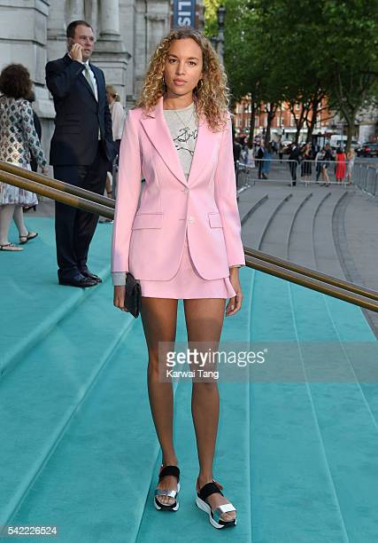 Phoebe CollingsJames arrives for the VA Summer Party at Victoria and Albert Museum on June 22 2016 in London England