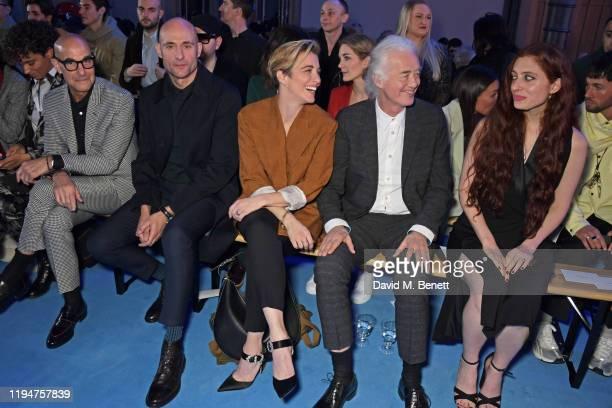 Phoebe CollingsJames wearing Paul Smith Stanley Tucci wearing Paul Smith Mark Strong wearing Paul Smith Vicky McClure wearing Paul Smith Jimmy Page...