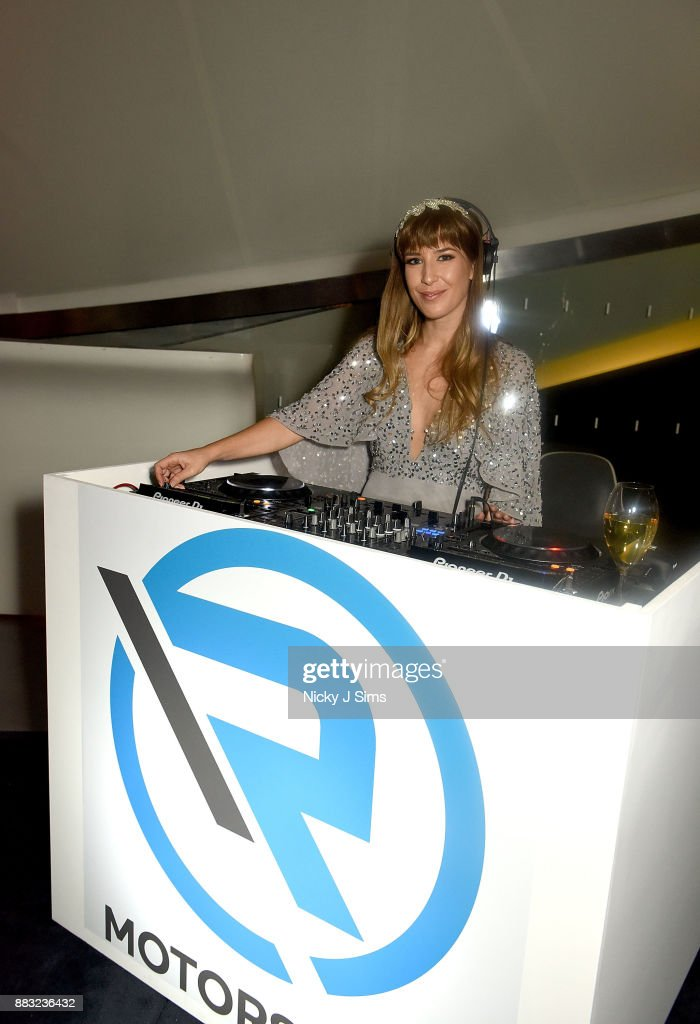 Phoebe DAbo attends the R Motorsport Launch at the