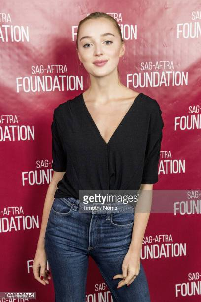 """Phoebe Dynevor attends a screening of """"Snatch"""" at SAG-AFTRA Foundation Screening Room on September 11, 2018 in Los Angeles, California."""
