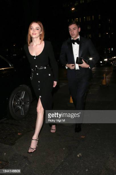 Phoebe Dynevor seen attending Annabel's For The Amazon, a fundraising event at Annabel's to plant one million trees in the Amazon rainforest, in...