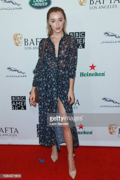 Phoebe Dynevorattends BAFTA Los Angeles BBC America TV Tea Party 2018 at The Beverly Hilton Hotel on September 15 2018 in Beverly Hills California