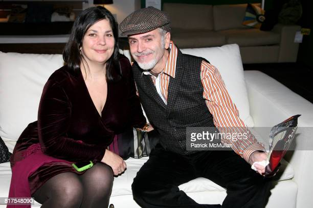 Phoebe Fitch and Jorge Socarras attend 8th Annual BoCONCEPT/KOLDESIGN Holiday Party at Bo Concept Madison Ave on December 14th 2010 in New York City