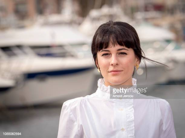 Phoebe Fox attend the Curfew photocall as part of the MIPCOM 2018 on October 15 2018 in Cannes France