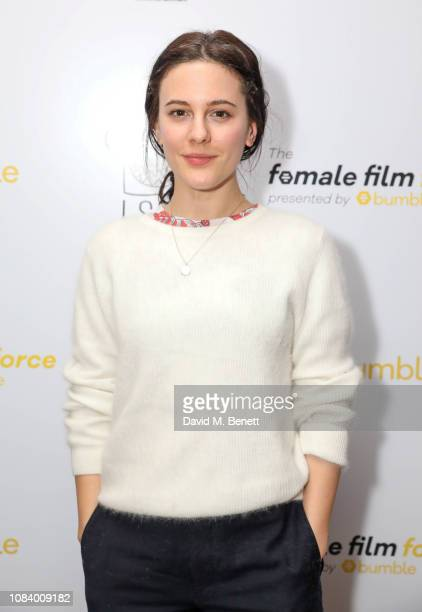 Phoebe Fox attends a private screening of Bumble Presents The Female Film Force at The Soho Hotel on 17th January 2019 The initiative was created to...