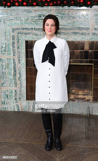 Phoebe Fox attends as the London Critics Circle Film Awards are announced at May Fair Hotel on December 16 2014 in London England