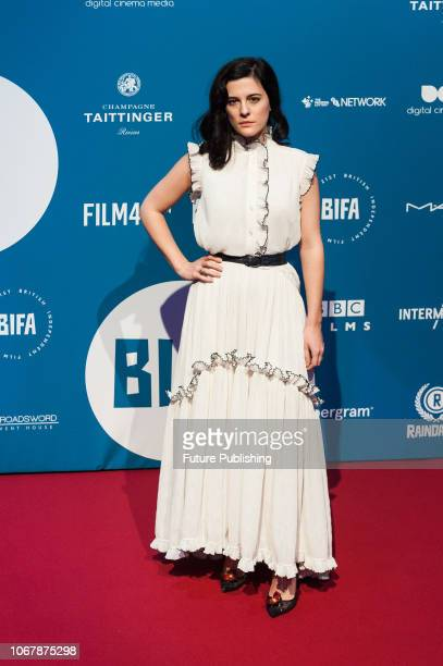 Phoebe Fox attends the 21st British Independent Film Awards at Old Billingsgate in the City of London December 02 2018 in London United Kingdom