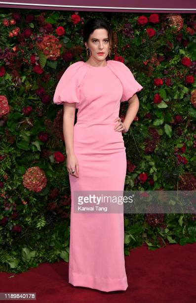 Phoebe Fox attends the 65th Evening Standard Theatre Awards at London Coliseum on November 24 2019 in London England