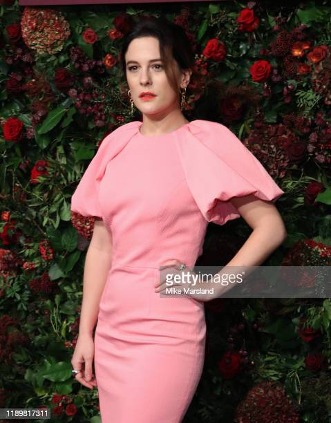 Phoebe Fox attends the 65th Evening Standard Theatre Awards at the London Coliseum on November 24 2019 in London England