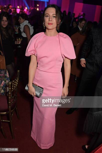 Phoebe Fox attends the after party of the 65th Evening Standard Theatre Awards in association with Michael Kors at the London Coliseum on November 24...
