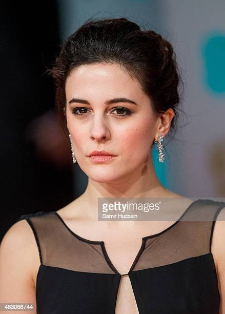 Phoebe Fox attends the EE British Academy Film Awards at The Royal Opera House on February 8 2015 in London England
