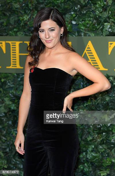 Phoebe Fox attends The London Evening Standard Theatre Awards at The Old Vic Theatre on November 13 2016 in London England