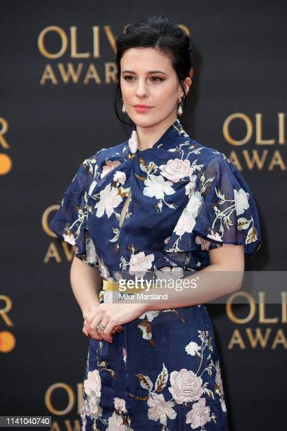 Phoebe Fox attends The Olivier Awards 2019 with MasterCard at Royal Albert Hall on April 07 2019 in London England