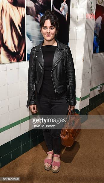 Phoebe Fox attends the press night of Blue/Orange at The Young Vic on May 19 2016 in London England