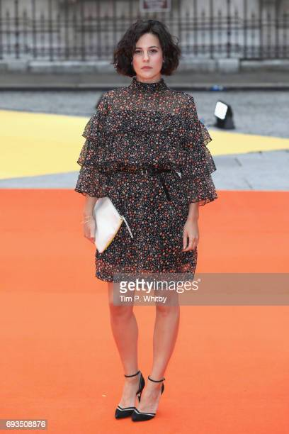 Phoebe Fox attends the preview party for the Royal Academy Summer Exhibition at Royal Academy of Arts on June 7 2017 in London England
