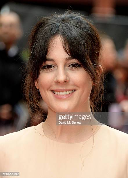 Phoebe Fox attends the UK premiere of Eye In The Sky at The Curzon Mayfair on April 11 2016 in London England