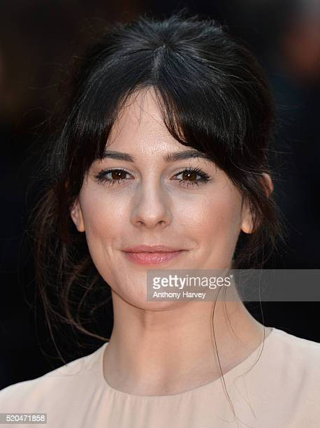 Phoebe Fox attends the UK premiere of Eye In The Sky on April 11 2016 in London United Kingdom