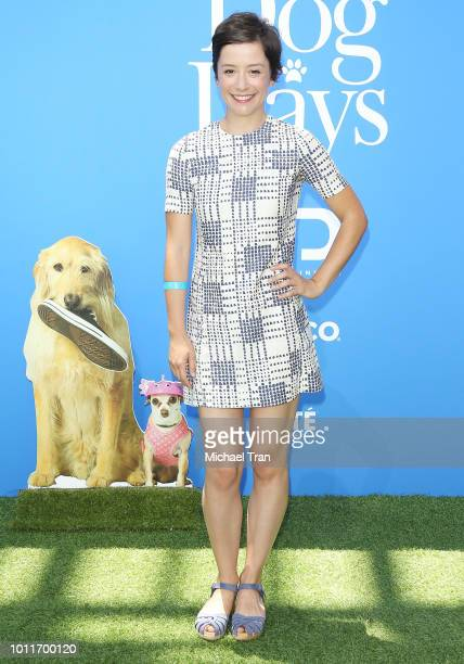 "Phoebe Neidhardt attends the Los Angeles premiere of LD Entertainment's ""Dog Days"" held at Westfield Century City on August 5, 2018 in Century City,..."