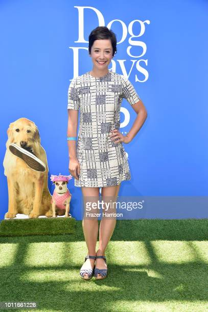 Phoebe Neidhardt attends the premiere of LD Entertainment's 'Dog Days' at Westfield Century City on August 5 2018 in Century City California