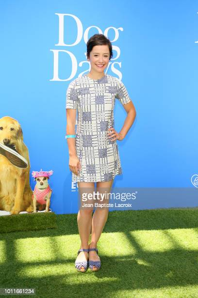 "Phoebe Neidhardt attends the premiere of LD Entertainment's ""Dog Days"" at Westfield Century City on August 5, 2018 in Century City, California."