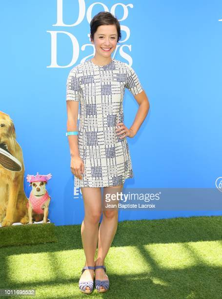 Phoebe Neidhardt attends the premiere of LD Entertainment's 'Dog Days' at Westfield Century City on August 5, 2018 in Century City, California.