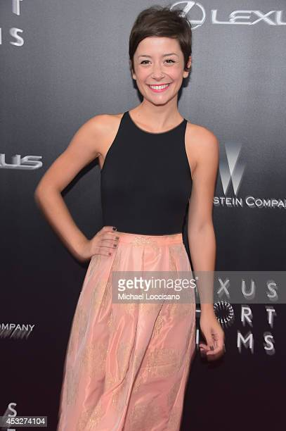 Phoebe Neidhardt Operation Barn Owl attends the 2nd Annual Lexus Short Films 'Life is Amazing' New York premiere presented by The Weinstein Company...