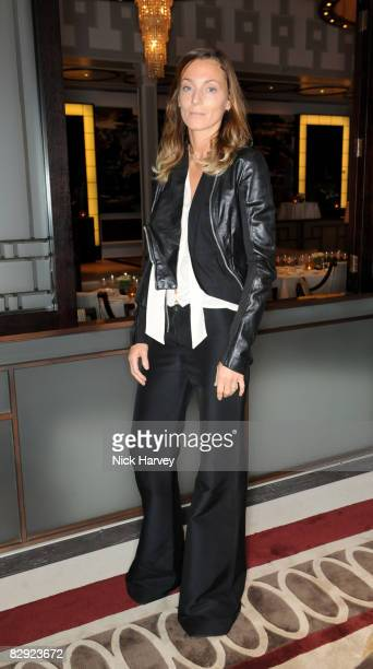 Phoebe Philo attends Richard James' 15th anniversary party hosted by GQ editor Dylan Jones on April 29 2008 at The Lanesborough in London England