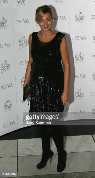 Phoebe Philo attends the British Fashion Awards 2004 on November 2 2004 at the Victoria and Albert Museum in London Run by the British Fashion...