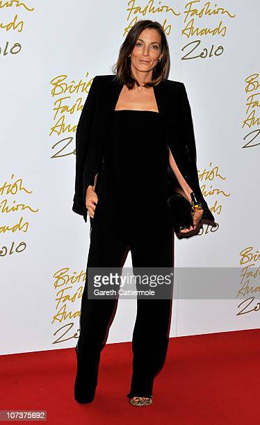 Phoebe Philo attends the British Fashion Awards at The Savoy on December 7, 2010 in London, England.