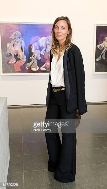 Phoebe Philo attends the Richard Prince 'Continuation' Private View at the Serpentine Gallery on June 25 2008 in London England
