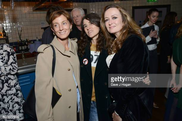 Phoebe Philo Bella Freud and Lucy Yeomans attend the screening of 'The Beguiled' at Picturehouse Central on June 27 2017 in London England