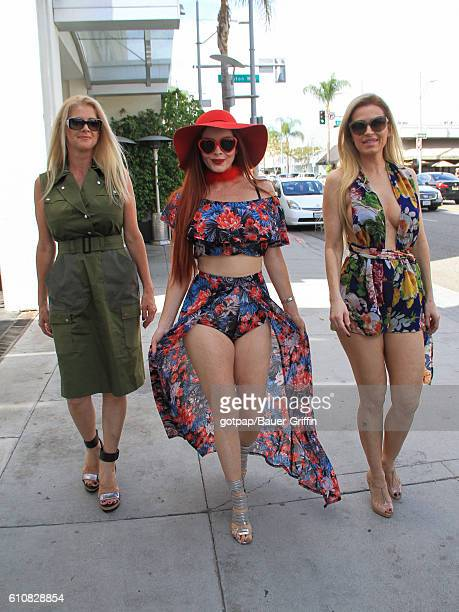 Phoebe Price and Ana Braga are seen on September 27 2016 in Los Angeles California