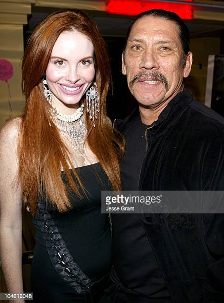 """Phoebe Price and Danny Trejo during """"The Horse Trader"""" Premiere and After Party at Edwards Island 4 Cinemas & Brystan Studios in Newport Beach,..."""