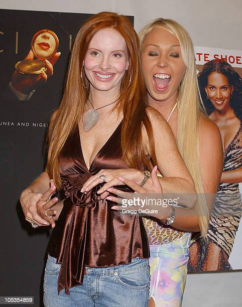 """Phoebe Price and Mary Carey during Instyle Magazine Celebrates The Book """"Precious"""" By Melanie Dunea and Nigel Parry at Chateau Marmont Hotel in Los..."""