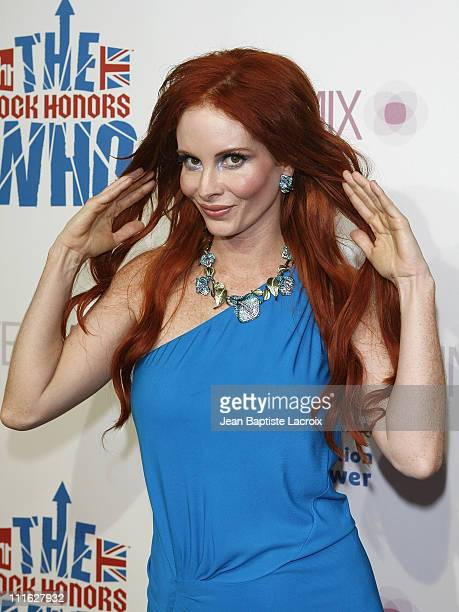 Phoebe Price arrives at the VH1 Rock Honors Exclusive VIP Party at Intermix on July 11, 2008 in Los Angeles, California.