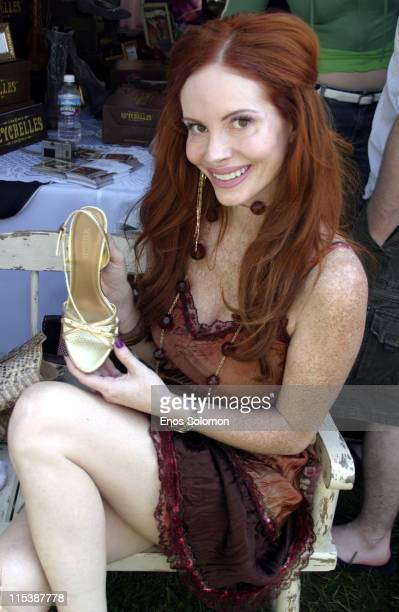 Phoebe Price at Seychelles Footwear during W Hollywood Yard Sale Presented by W Magazine and Guess to Benefit Clothes Off Our Back in Brentwood...
