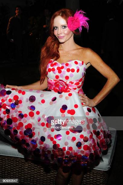 Phoebe Price attends Los Angeles Confidential magazine's annual pre-Emmy party, hosted by Heidi Klum and Niche Media CEO Jason Binn, held at a...
