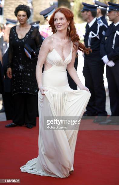 Phoebe Price during 2006 Cannes Film Festival Indigenes Premiere at Palais des Festival in Cannes France