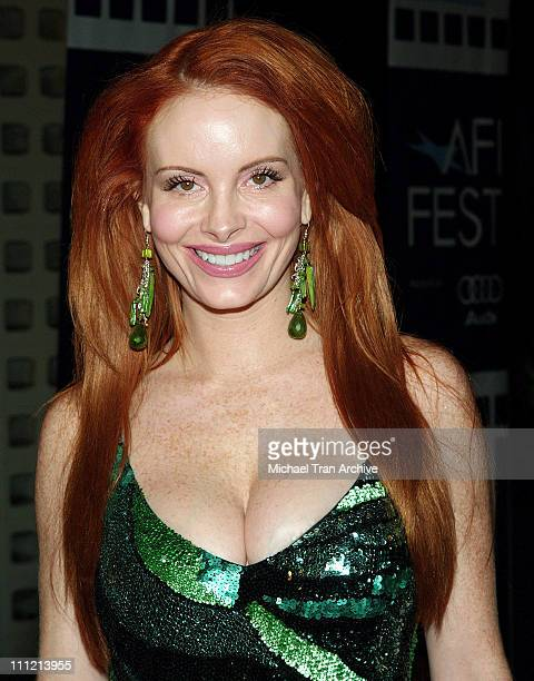 Phoebe Price during AFI Fest 2005 'The World's Fastest Indian' Los Angeles Premiere Arrivals at Cinerama Dome Arclight in Hollywood California United...