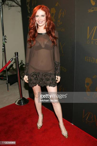 Phoebe Price during Los Angeles Runway Debut of Marceau Arrivals at Boulevard 3 in Hollywood California United States